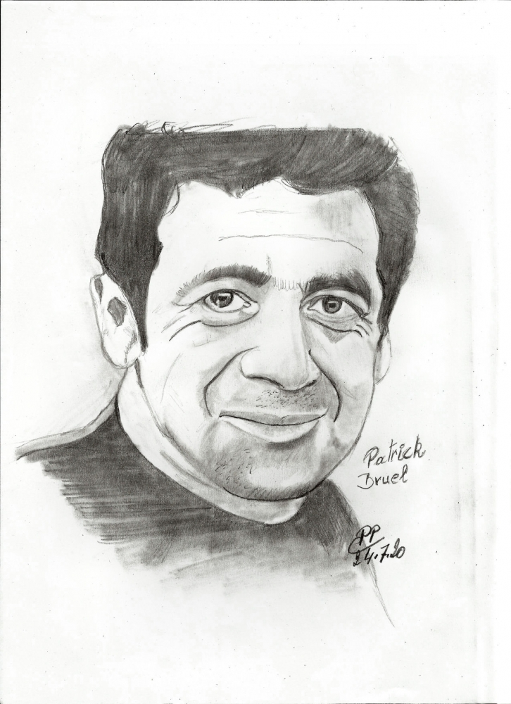 Patrick Bruel by Patoux